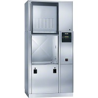 Miele PG8528 Large Chamber Pass-Thru Glassware Washer with Electric Heater and DI Preheat Tank
